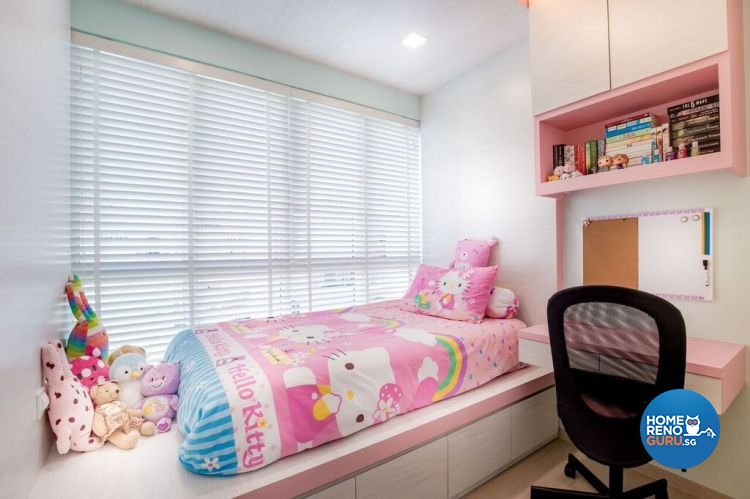 Contemporary, Modern Design - Bedroom - HDB Executive Apartment - Design by Interior Doctor Pte Ltd