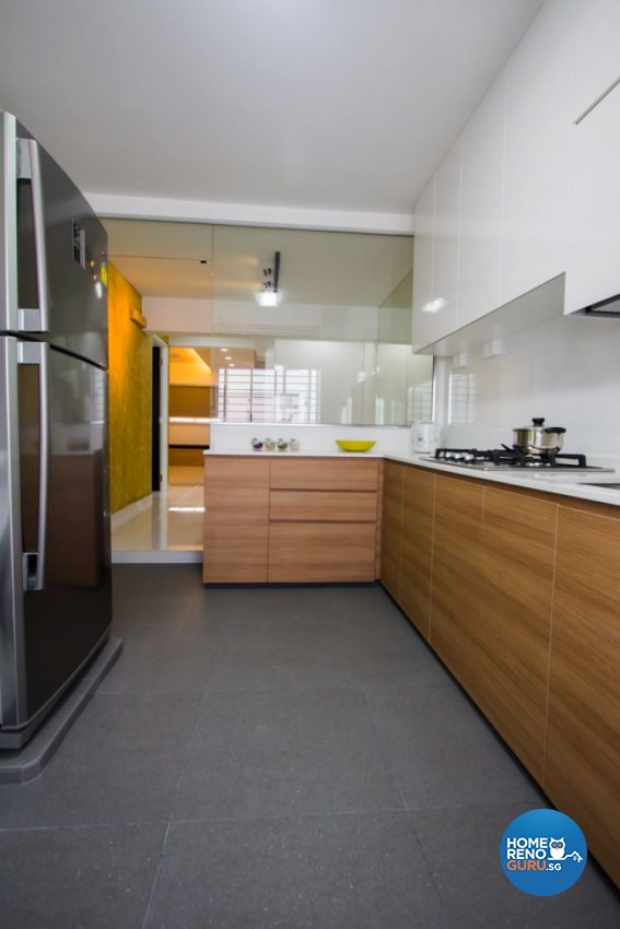Contemporary, Minimalist Design - Kitchen - Condominium - Design by Interior Secrets Pte Ltd