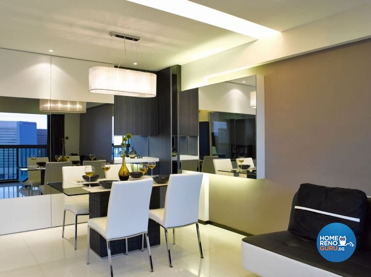 Contemporary Design - Living Room - Condominium - Design by Intradesign & Renovation Pte Ltd