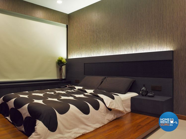 Contemporary Design - Bedroom - Condominium - Design by Intradesign & Renovation Pte Ltd