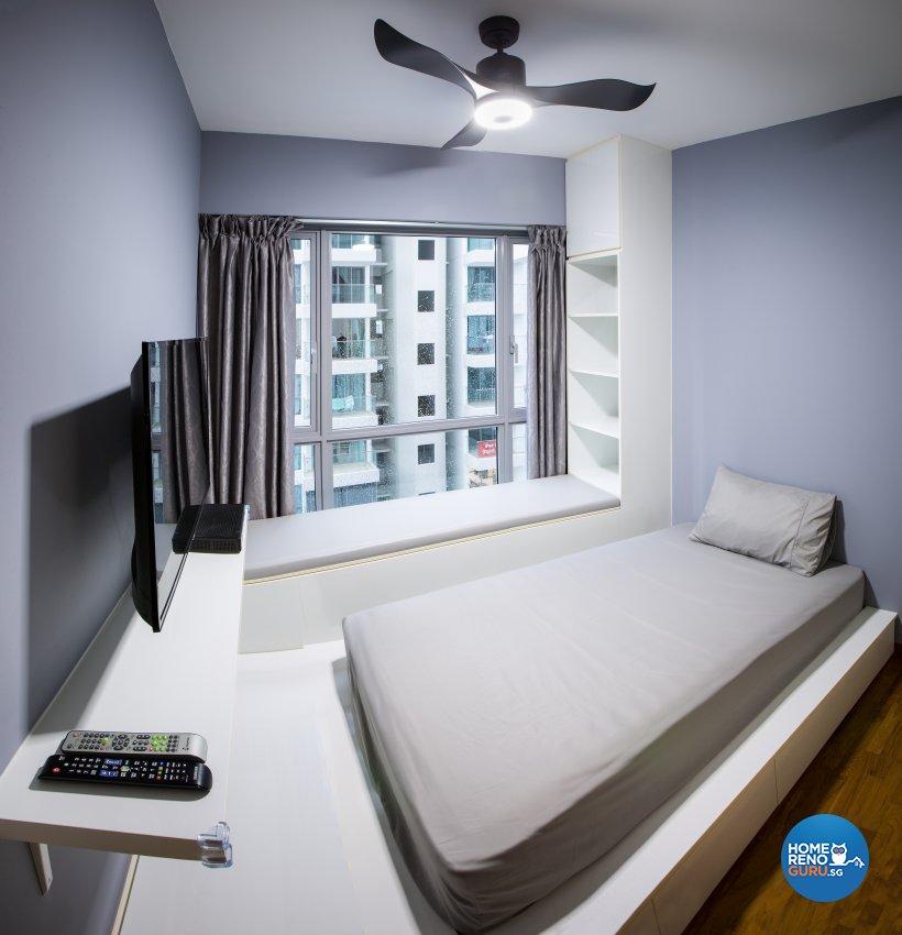 Scandinavian Design - Bedroom - Condominium - Design by Jialux Interior Pte Ltd