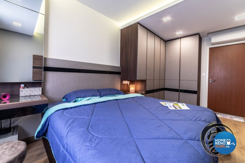 Contemporary, Modern Design - Bedroom - HDB 5 Room - Design by Jialux Interior Pte Ltd