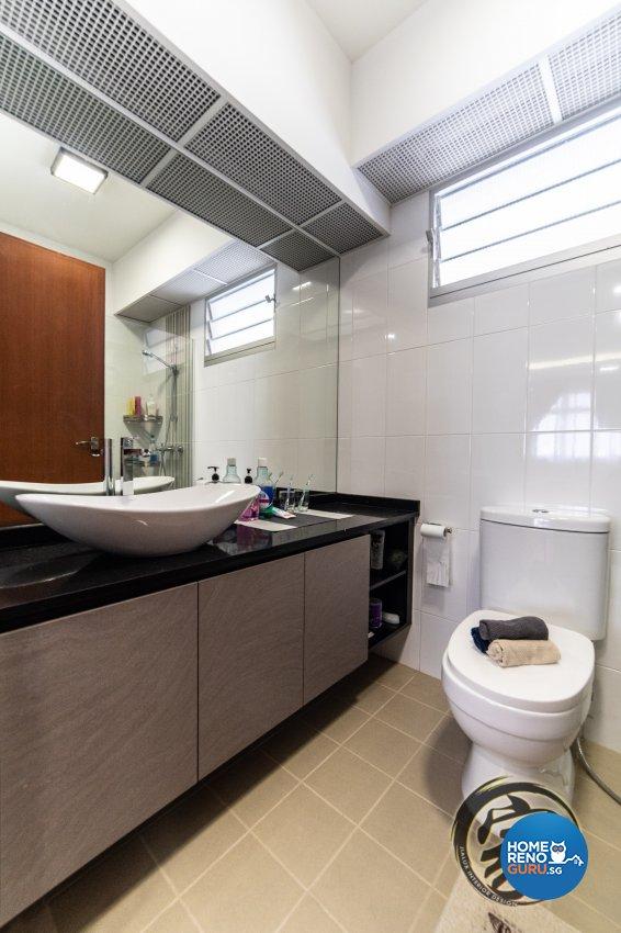 Contemporary, Modern Design - Bathroom - HDB 5 Room - Design by Jialux Interior Pte Ltd