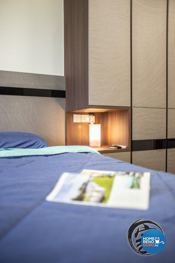 Contemporary, Modern Design - Bedroom - HDB 5 Room - Design by Jialux Interior Pte Ltd