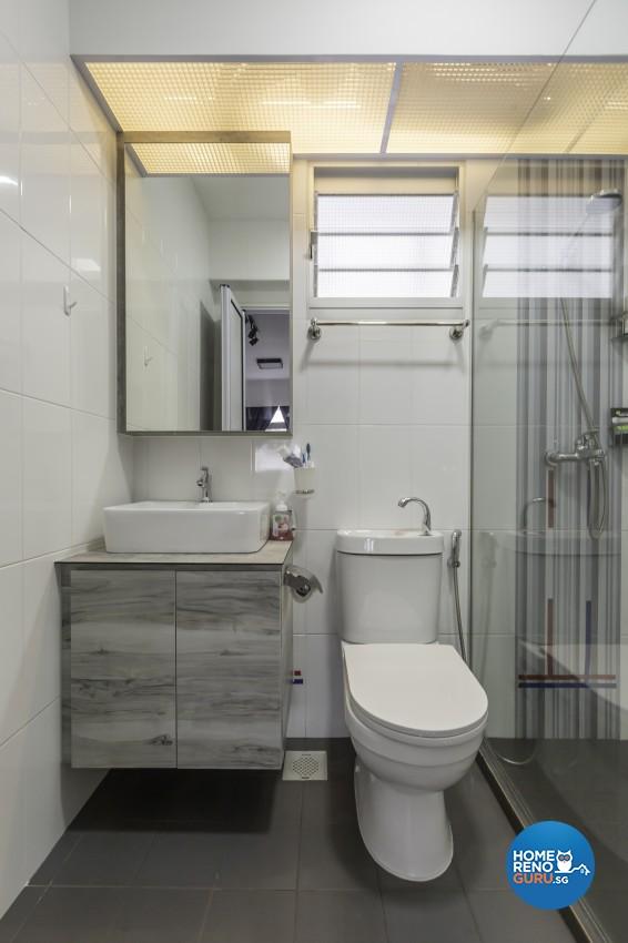 Modern Design - Bathroom - HDB 4 Room - Design by Jialux Interior Pte Ltd