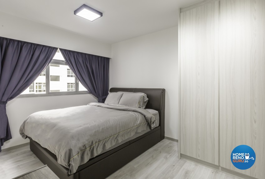 Modern Design - Bedroom - HDB 4 Room - Design by Jialux Interior Pte Ltd