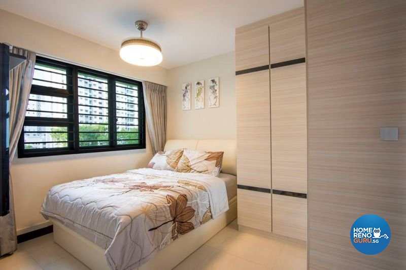 Modern Design - Bedroom - HDB 3 Room - Design by Jialux Interior Pte Ltd