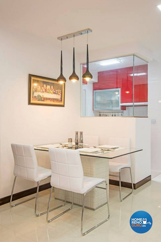Modern Design - Dining Room - HDB 3 Room - Design by Jialux Interior Pte Ltd