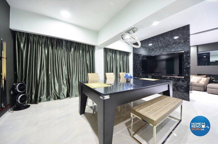 Modern Design - Dining Room - HDB 5 Room - Design by Jialux Interior Pte Ltd