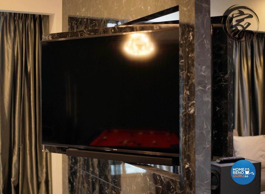 Modern Design - Living Room - HDB 5 Room - Design by Jialux Interior Pte Ltd