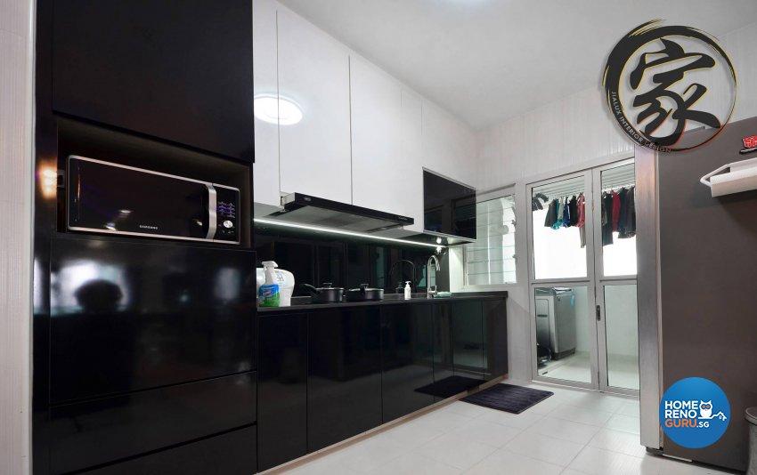 Modern Design - Kitchen - HDB 5 Room - Design by Jialux Interior Pte Ltd