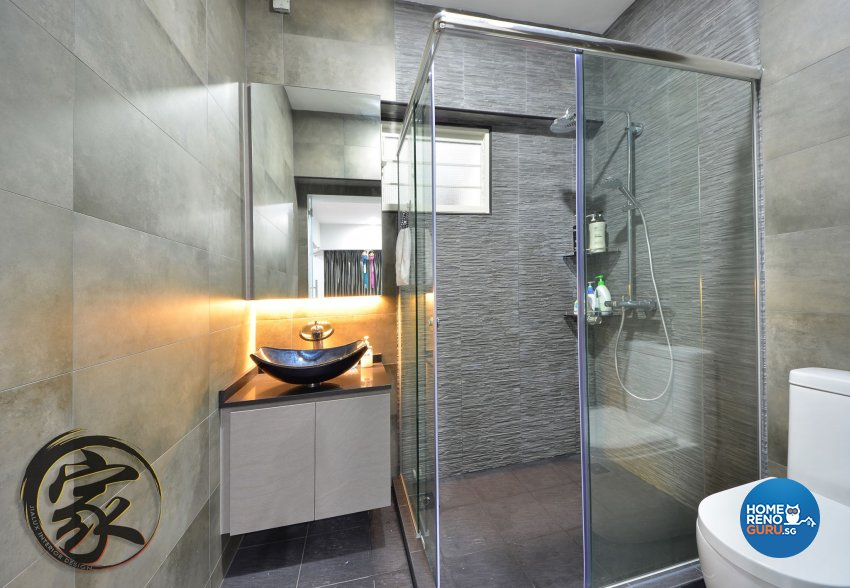 Modern Design - Bathroom - HDB 5 Room - Design by Jialux Interior Pte Ltd