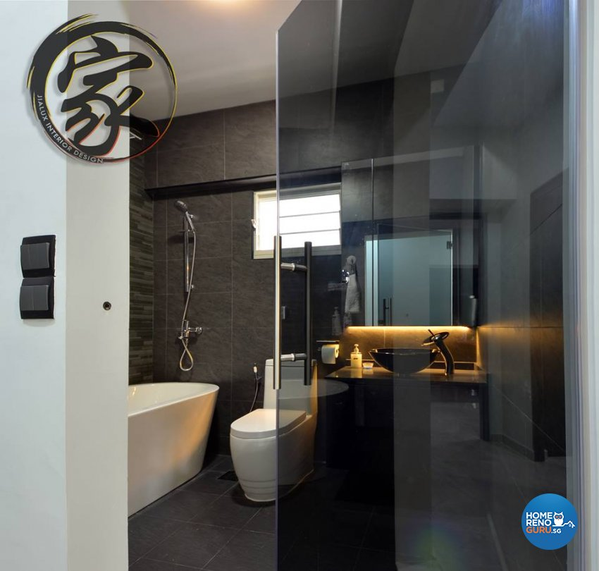 Modern Design - Bathroom - HDB 5 Room - Design by Jialux Interior Pte Ltd
