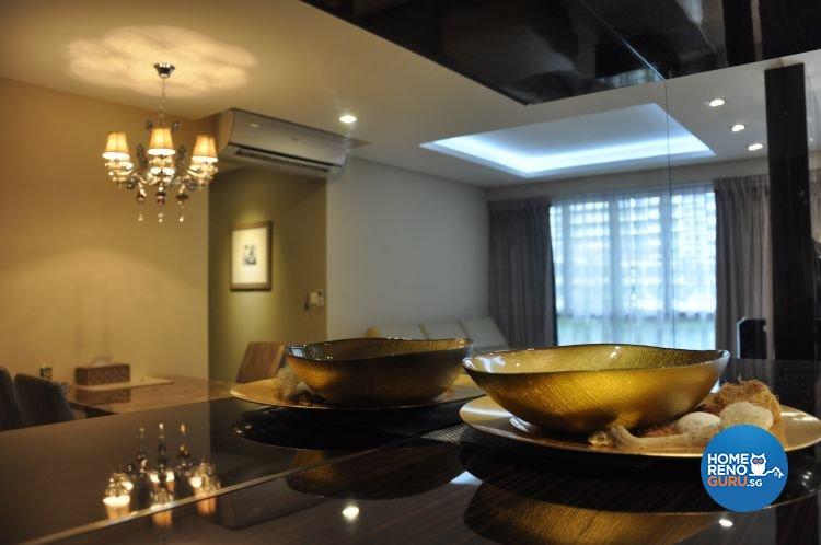 Contemporary, Modern Design - Dining Room - HDB 4 Room - Design by Joo Guan Huat Trading & Construction