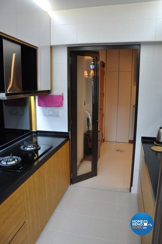 Contemporary, Modern Design - Kitchen - HDB 4 Room - Design by Joo Guan Huat Trading & Construction