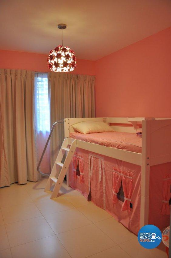 Contemporary, Modern Design - Bedroom - HDB 4 Room - Design by Joo Guan Huat Trading & Construction