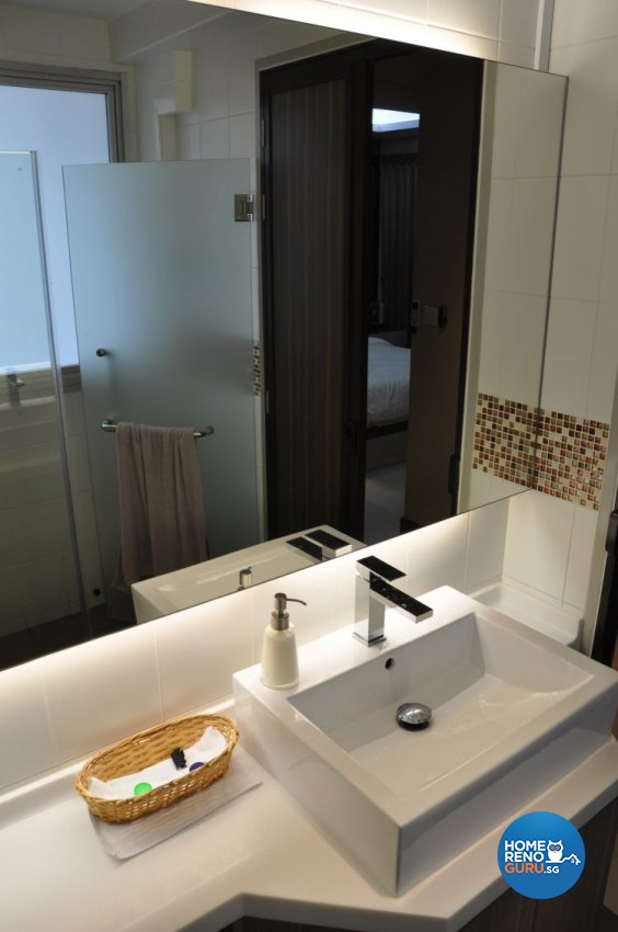 Contemporary, Modern Design - Bathroom - HDB 4 Room - Design by Joo Guan Huat Trading & Construction