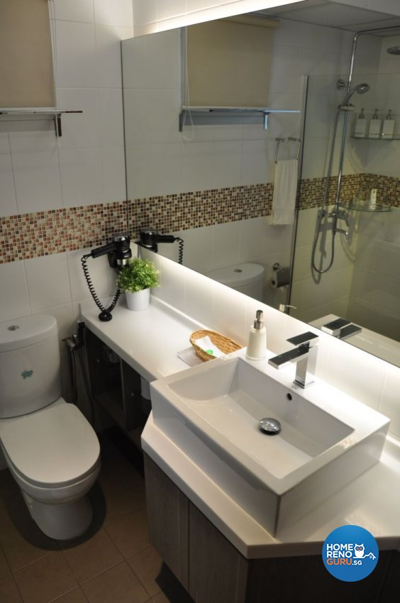 Contemporary, Modern Design - Bathroom - HDB 4 Room - Design by Joo Guan Huat Trading & Construction
