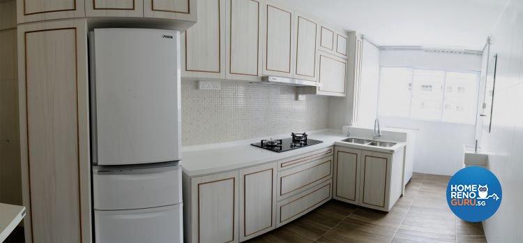 Minimalist, Scandinavian Design - Kitchen - HDB 4 Room - Design by JSR Design