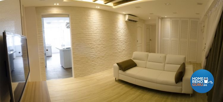 Minimalist, Scandinavian Design - Living Room - HDB 4 Room - Design by JSR Design
