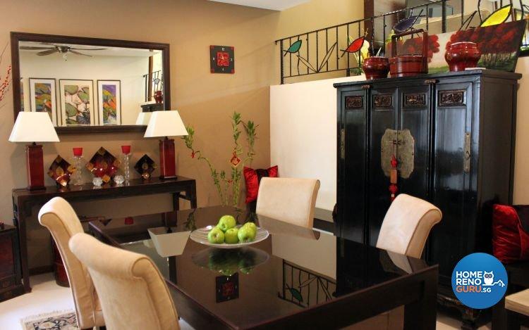 Classical, Eclectic, Modern Design - Dining Room - Condominium - Design by Kaiyi Design Pte Ltd