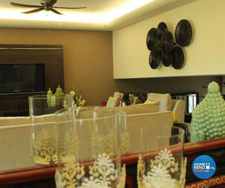 Classical, Eclectic, Modern Design - Living Room - Condominium - Design by Kaiyi Design Pte Ltd