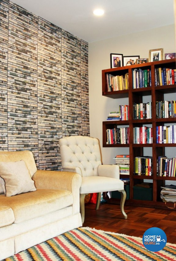Classical, Eclectic, Modern Design - Study Room - Condominium - Design by Kaiyi Design Pte Ltd