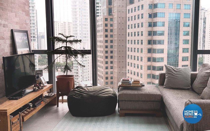 Eclectic, Modern Design - Living Room - Condominium - Design by Kee Link Interior Pte Ltd