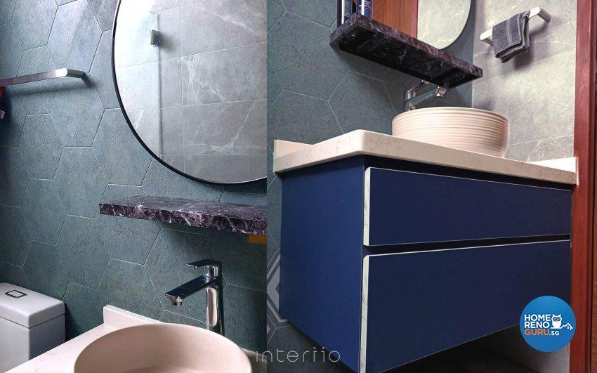 Eclectic, Modern Design - Bathroom - Condominium - Design by Kee Link Interior Pte Ltd
