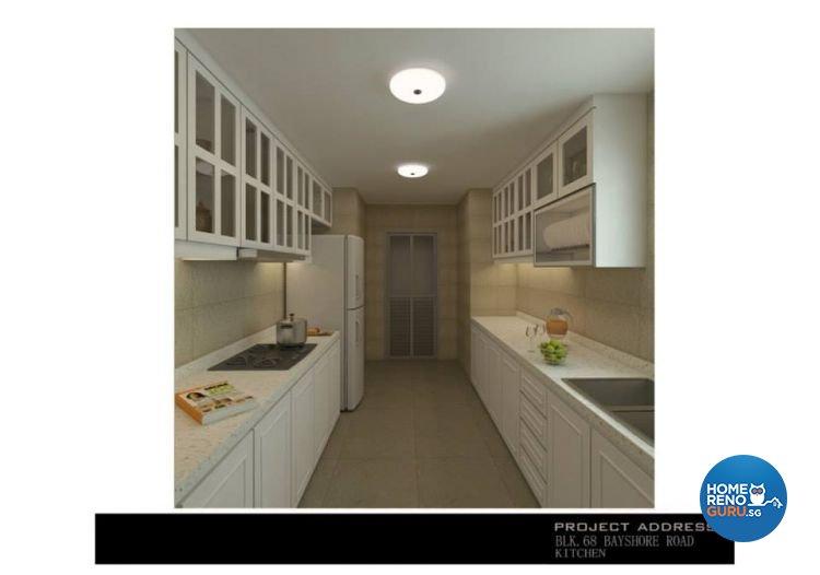 Classical, Industrial, Modern Design - Kitchen - Condominium - Design by Ken Home Design & Construction