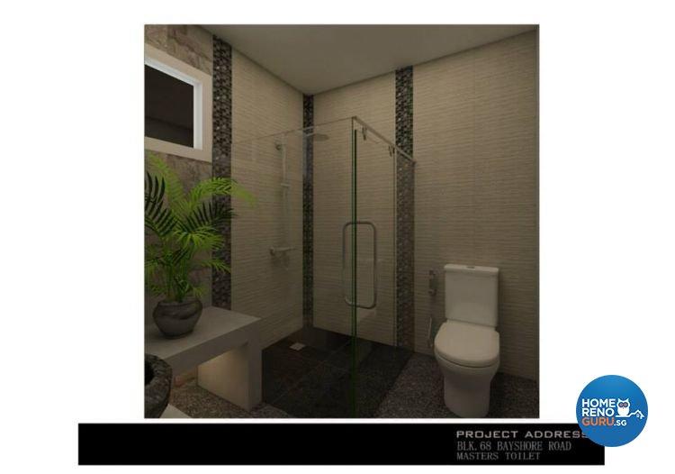 Classical, Industrial, Modern Design - Bathroom - Condominium - Design by Ken Home Design & Construction
