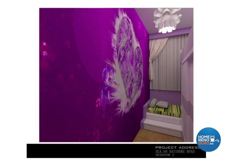 Classical, Industrial, Modern Design - Bedroom - Condominium - Design by Ken Home Design & Construction