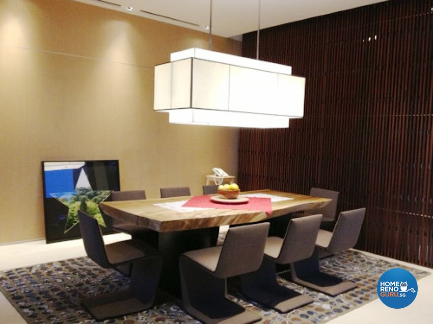 Country, Modern Design - Dining Room - Landed House - Design by Kitzig Design Studio Pte Ltd