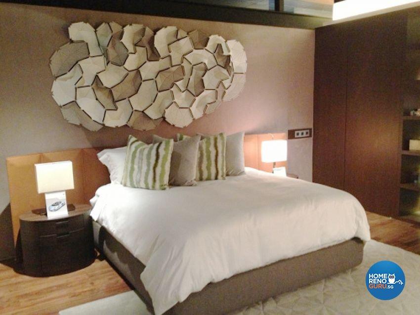 Country, Modern Design - Bedroom - Landed House - Design by Kitzig Design Studio Pte Ltd