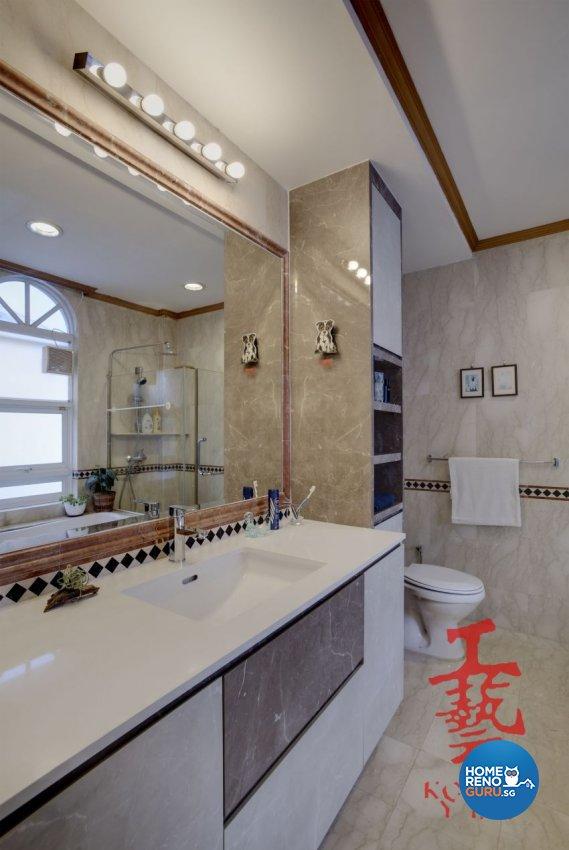 Modern Design - Bathroom - Landed House - Design by Koong Yee Renovation Works Pte Ltd