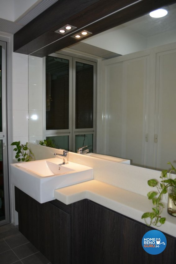 Contemporary, Eclectic, Resort Design - Bathroom - HDB 5 Room - Design by LCT Renovation Pte Ltd