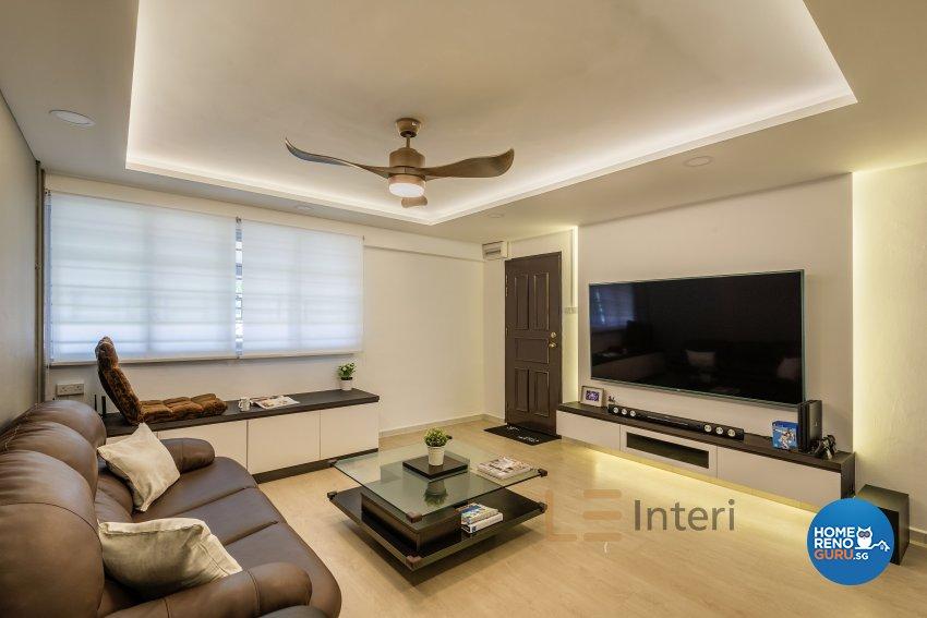 Contemporary Design -  - HDB 4 Room - Design by Le Interi