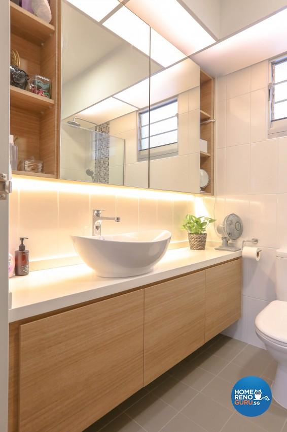 Modern Design - Bathroom - HDB 5 Room - Design by Le Interi