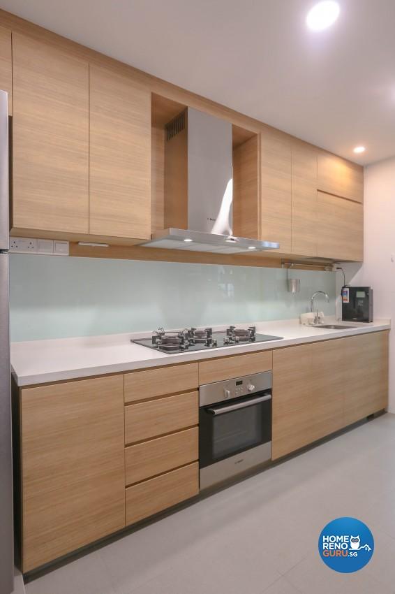 Modern Design - Kitchen - HDB 5 Room - Design by Le Interi