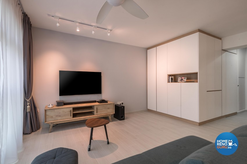 Modern, Others Design - Living Room - HDB 5 Room - Design by Le Interi