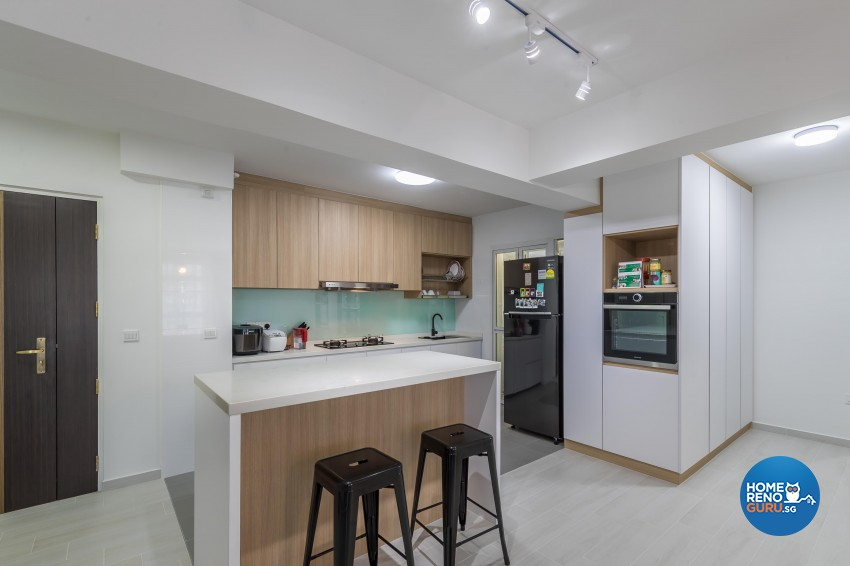 Modern, Others Design - Dining Room - HDB 5 Room - Design by Le Interi