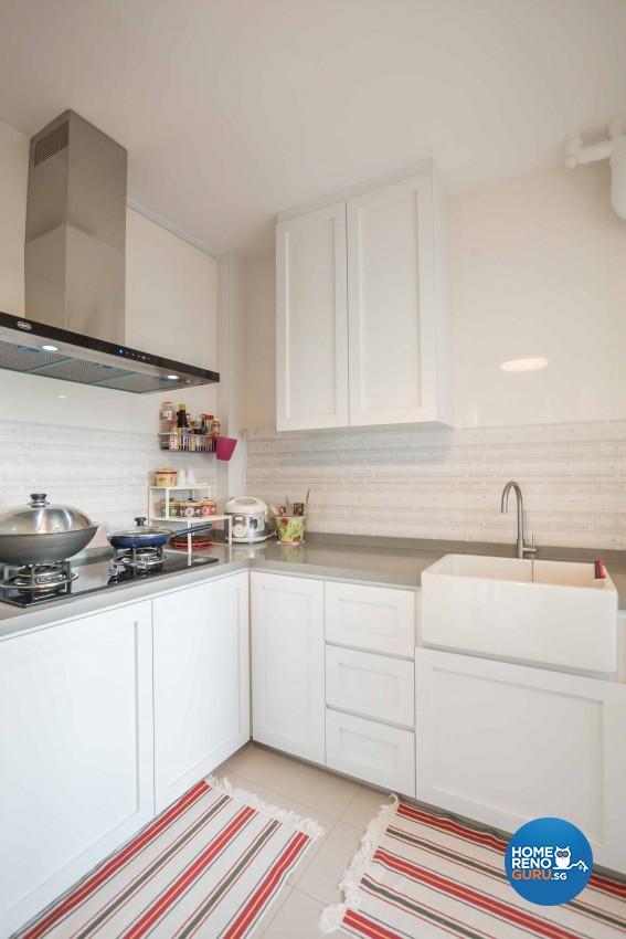 Modern, Victorian Design - Kitchen - HDB 3 Room - Design by Le Interi