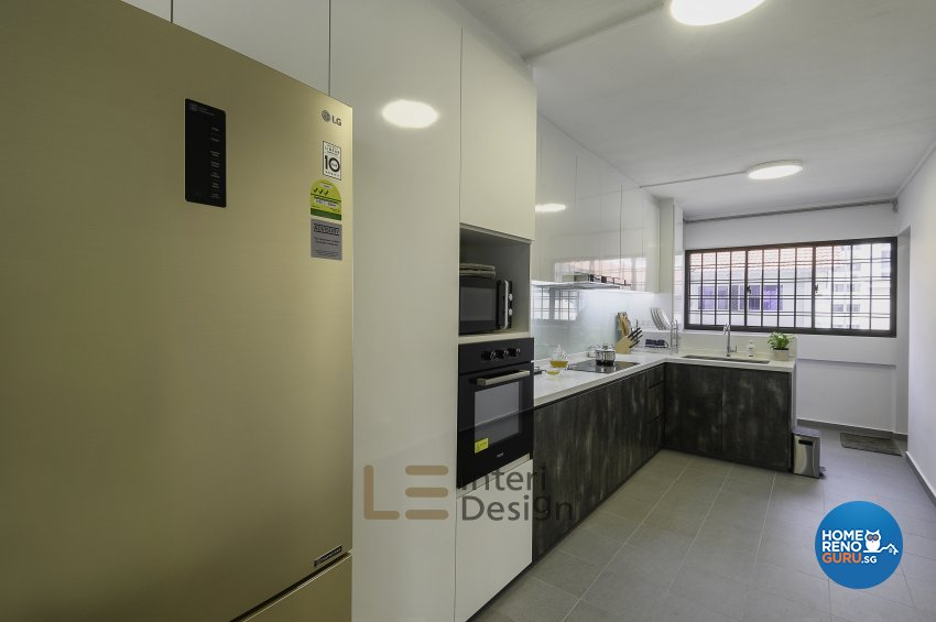 Classical, Minimalist, Resort Design - Kitchen - HDB 4 Room - Design by Le Interi