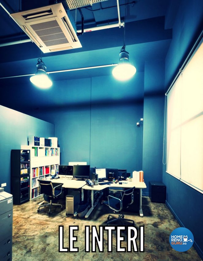 Industrial, Rustic Design - Study Room - Office - Design by Le Interi