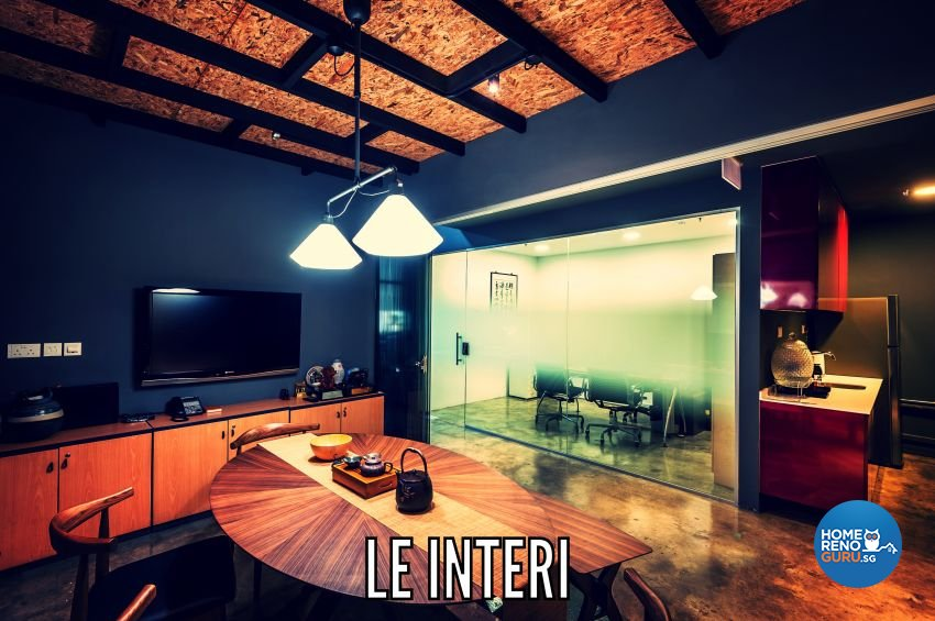 Industrial, Rustic Design - Living Room - Office - Design by Le Interi