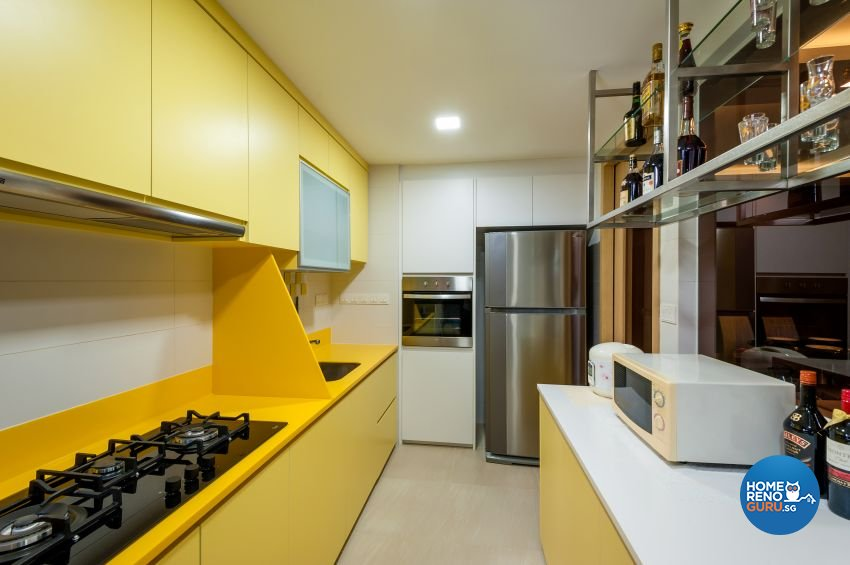 Classical, Contemporary Design - Kitchen - Condominium - Design by Le Interi