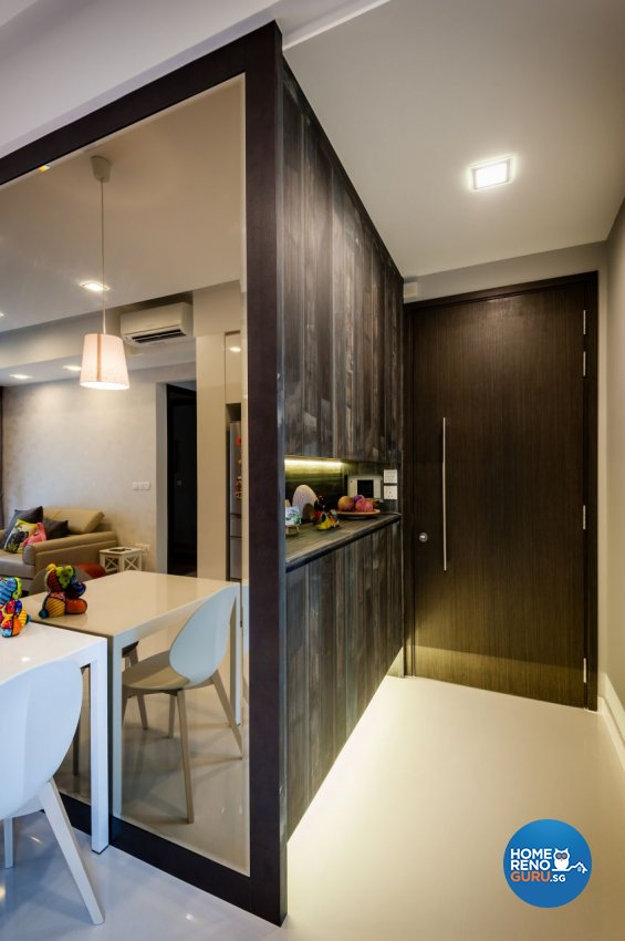 Classical, Contemporary, Modern Design - Dining Room - Condominium - Design by Le Interi