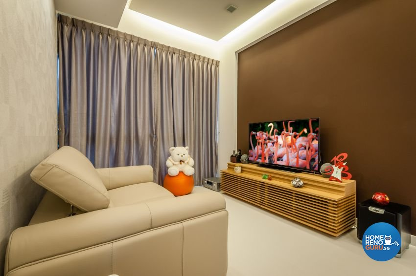 Classical, Contemporary, Modern Design - Living Room - Condominium - Design by Le Interi