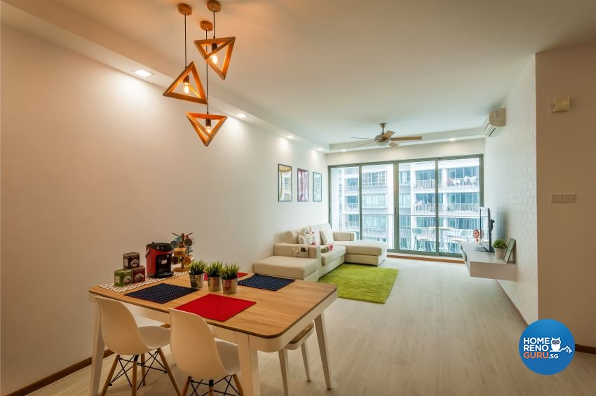 Minimalist, Modern, Scandinavian Design - Dining Room - Condominium - Design by Le Interi