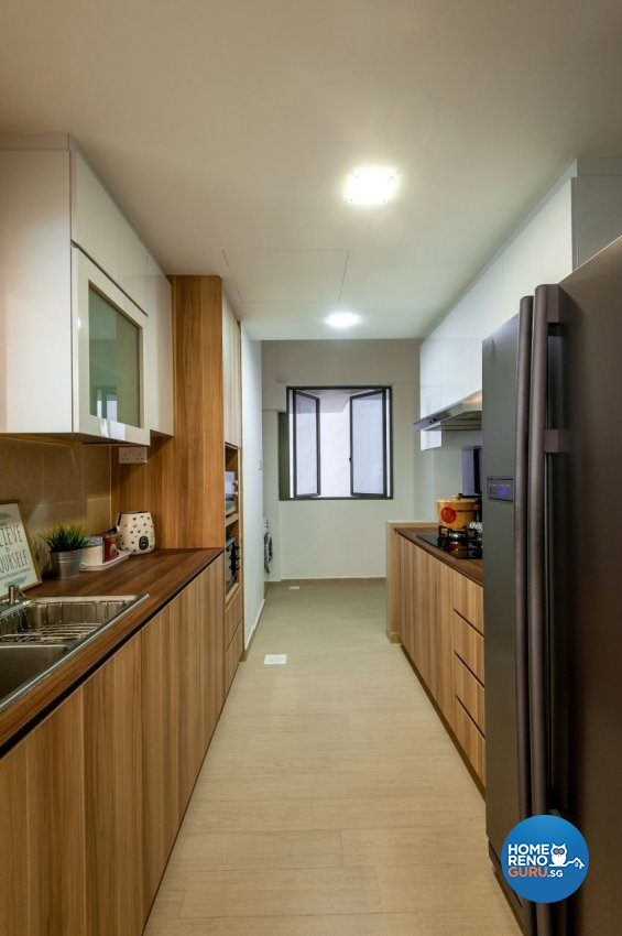 Minimalist, Modern, Scandinavian Design - Kitchen - Condominium - Design by Le Interi